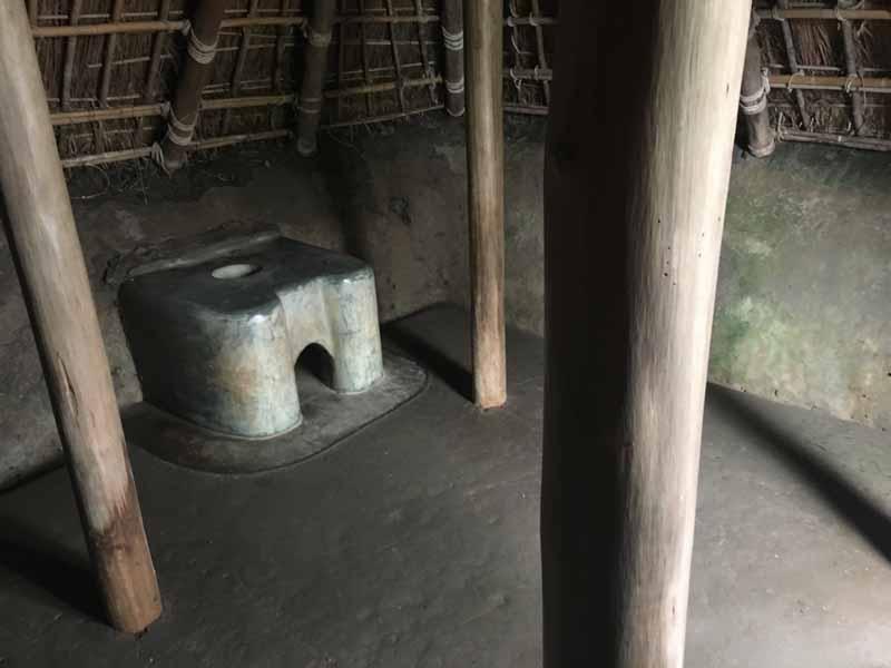 古墳時代竪穴住居内部