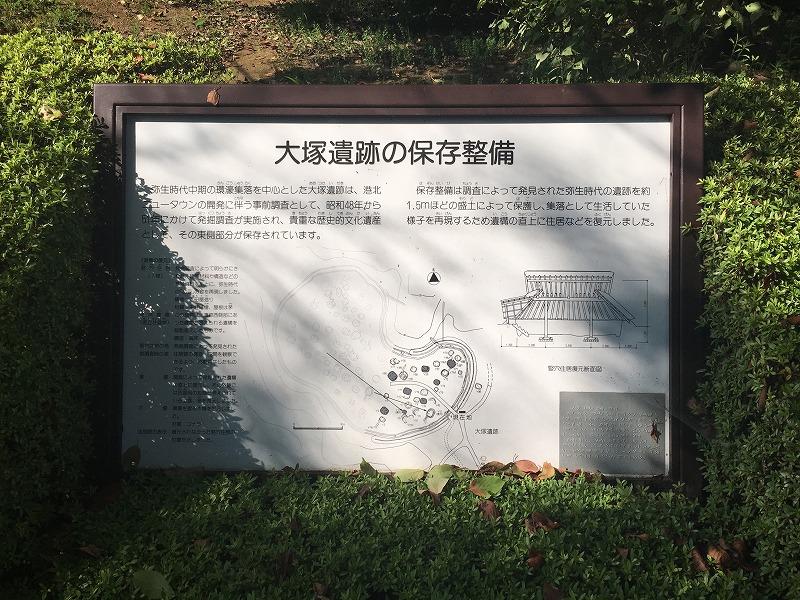 大塚遺跡の保存整備