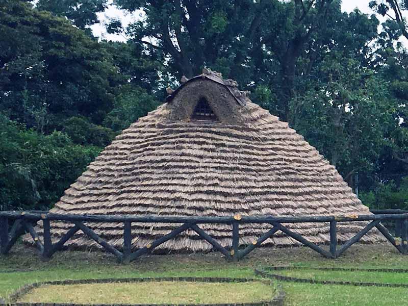 縄文時代竪穴住居全体