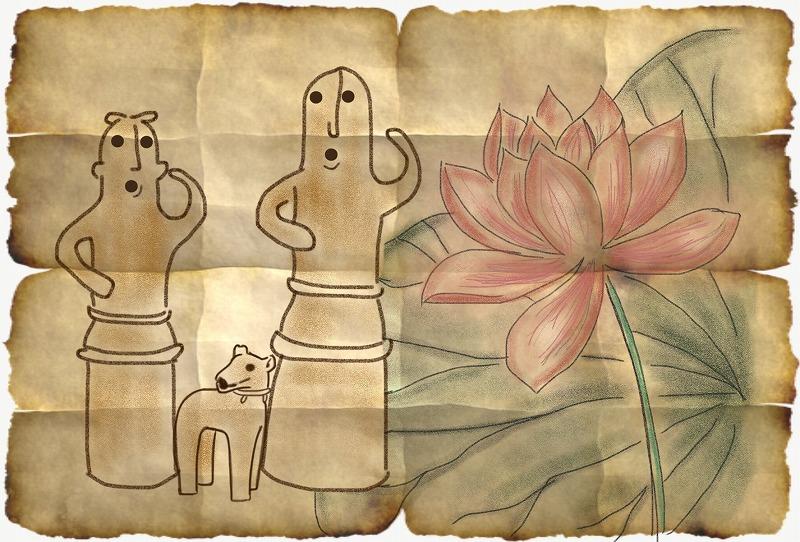 踊る埴輪たち
