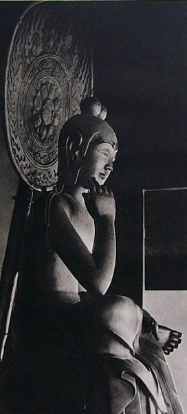 弥勒菩薩半跏像(如意輪観音)